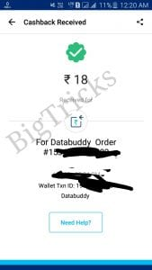 (Proof Added) DataBuddy App - Get Rs. 10 On Signup And Rs. 12 Per Refer 1