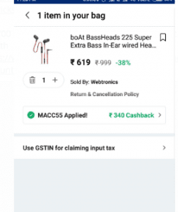 (Expired) PaytmMall - Get 55% Cashback on Selected Electronics Products 1