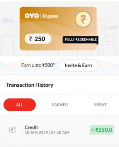 (TnC Changed) Oyo Rooms - Get Rs.1000 off on Rs.2400 Booking+ Refer & earn 1
