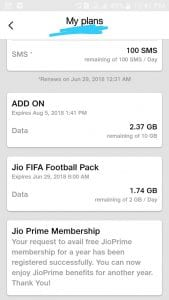 Jio FIFA Football Offer - Jio Credited 4 GB Data For Free 1