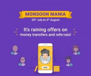 PhonePe Monsoon Mania: Raining Offers on Money Transfer and Referrals 1