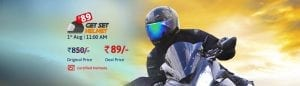 [Today @11] Droom Helmet at Rs. 89 on 1st August @11AM 1
