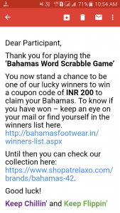 (Proof Added)Bahamas Offer - Get Free Relaxo Bahamas Flip Flops 1
