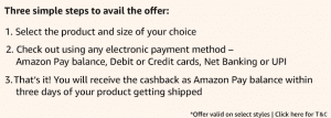 (Selected Brands)Amazon Pay Wallet Cashback-Shop for Rs 500 and get Rs 100 cashback 2