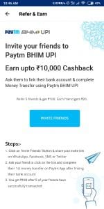 [LOOT] Paytm Refer and Earn Rs20 per Refer (valid for all users) 1