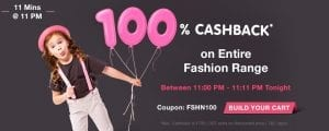(Live )Firstcry Loot - Get 100% Cashback on Entire Range for 11 Minutes today 11PM to 11.30PM 1