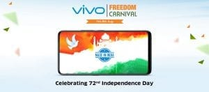 Vivo Freedom Carnival- Get Vivo Nex & V9 at Just Rs.1947 + More Exciting Offers 2