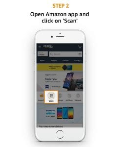 Amazon Scan & Pay - Get 50% Cashback On Scan & Pay Upto Rs.25 - 4 Times 3