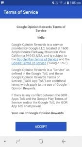 Google Opinion Rewards: Earn Play Credits By Answering Surveys. 2