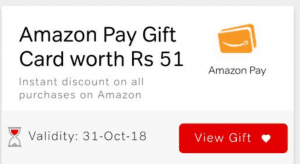 Download My Airtel App & Get Rs.51 Amazon Voucher on Recharge of Rs.199 2