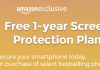Get Free 1 year Screen Protection on Selected Smart Phones From Amazon