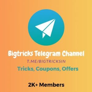 logo1 300x300 - Bigtricks Alerts : Join Our Whatsapp Broadcasting List And Never Miss A Deal
