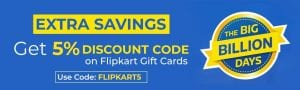 (Update)Nearbuy Loot - Get 5% Cashback on Flipkart/Amazon Vouchers till 9PM 1