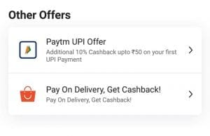 PayTM Mall Started Cash on Delivery - Now Get Cashback for Grocery Products too 2