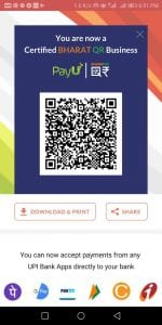 How To Generate Business Bharat QR To Accept Payments 3
