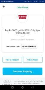 (Live Again) PayTM add Money Offer - Pay Rs.2000& Get Rs.2010 Back 2