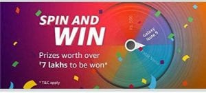 (Proof) Amazon Spin & Win - Get Amazon Cash & More Prizes Free Instantly 1