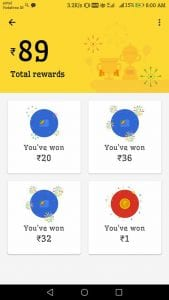 Proof - Files Go App - Get Google Pay(Tez )Scratch Card Free for File Transfer 4