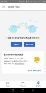 Proof - Files Go App - Get Google Pay(Tez )Scratch Card Free for File Transfer 3