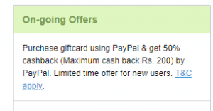 Niki Paypal offer - Get Flipkart Voucher worth Rs.1000 at Just Rs.500 Only 7