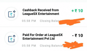 (Expired)LeagueSx Refer & Earn - Get Rs.20 PayTM Cash for every Referral + Rs.30 on Signup 3