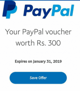 PayPal Again Credited Rs.300 To Some User's Paypal account as New Year Gift 1