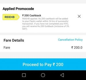 (All Users)Paytm Bus Offer :- Get 100% Cashback On Bus Booking (Upto Rs. 200) 1