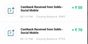 Somo App Refer & Earn - Get Rs.5 PayTM Cash Per Referral 2