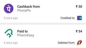 Pharmeasy Medicines Offers - Pay using Phonepe & Get Upto Rs.500 Cashback 2
