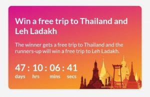 Trell App - Refer Friends & Win a Thailand Trip or Refer 5 Friends & Win Rs.5-3000 1