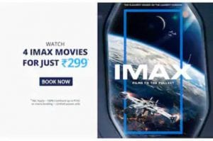 PayTM IMAX Movie Pass - Buy Pass & watch 4 IMAX Movies for Free 1