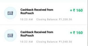 Rozdhan App - Signup & Get Rs.50 Bonus + Refer & earn Rs.5 + Unlimited Network Earnings 5