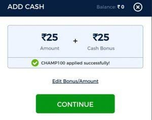 KhelChamp Fantasy Cricket - League Starting at Rs.1 Win Real Cash From IPL Leagues 5
