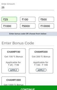 KhelChamp Fantasy Cricket - League Starting at Rs.1 Win Real Cash From IPL Leagues 4
