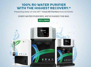 {Free} Get A Demo Of AO Smith RO Purifier at Your home Absolutely Free 1