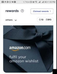 Cred App Refer & Earn - Refer 3 Friends & Get Rs.1000 Amazon Voucher 1