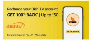 dth recharge offers