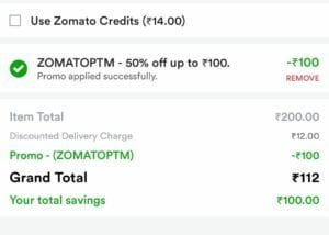 Zomato Food Offer - Get Rs.200 Food For Just Rs.75 (All Users) 1