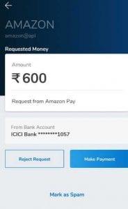 Mobikwik UPI Offer - Get 10% Cashback when pay using Mobikwik UPI on Amazon 3