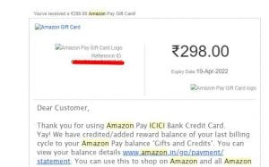 [Best credit card]Apply For Amazon Pay ICICI Credit card & Get Rs.500 Cashback with Lots of benefits 7
