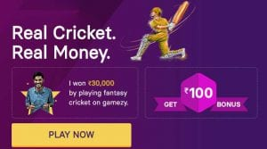 Gamezy App - Signup & Get Rs.150 Cash + Rs.100 Per Referral (100% Bonus Usable) 1