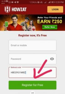 Howzat Fantasy Cricket - Get Rs.350 Bonus On First Deposit + Rs.250 Per Referral 2