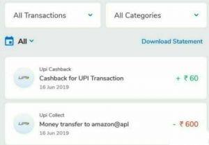 Mobikwik UPI Offer - Get 10% Cashback when pay using Mobikwik UPI on Amazon 4