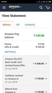 [Best credit card]Apply For Amazon Pay ICICI Credit card & Get Rs.500 Cashback with Lots of benefits 1