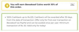 [New Users Only] Bewakoof Offer - Order anything worth Rs.325 For Free 2