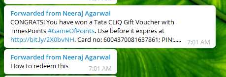 [Answers]GameOfPoints -  9thJuly Answers for India Vs Newzeland Match - Win Tata CLiQ vouchers worth Rs.40,000 everyday! 4