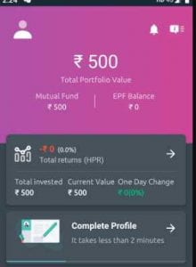 Piggy Mutual Fund App - Get Rs.500 on signup + Refer & Earn Rs.100 each 5
