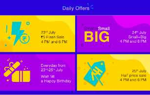 MI 5th Anniversary Sale : Get Redmi Note 7 Pro & TV at Just Rs.5 + More Offers 1