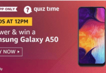 Amazon 28 August Quiz Answers