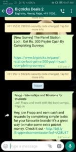 [Instant] Frapp App - Get Rs.10 PayTM Cash On signup & Rs.5 Per Referral 3